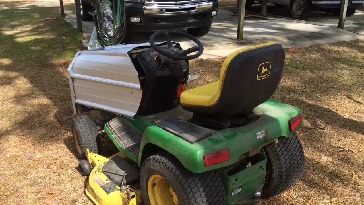 Jd Tractor Hoods : Rebuilding the john deere hood youtube