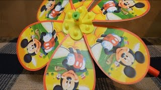 Mickey Mouse Pinwheel Toy / Mickey Mouse Windmill Toy by Kids Toys and Crafts