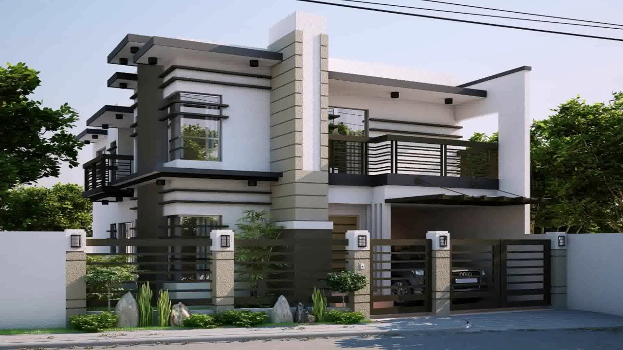 Modern Zen House Design With Floor Plan Gif Maker