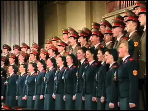 The Russian Red Army Chorus - Famous Italian bella Ciao melody