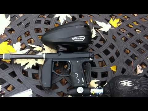 Empire AXE with BOSS Bolt V2, Dye .684 CF Boomstick & Rotor