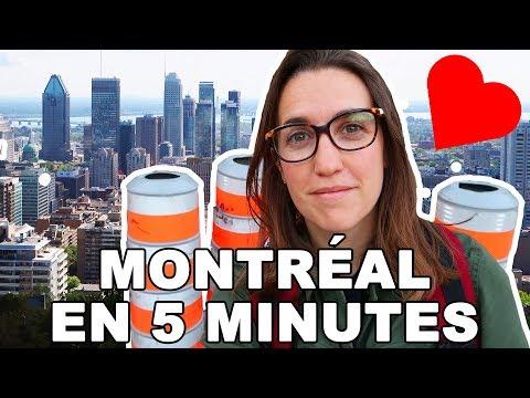 MONTRÉAL EN 5 MINUTES  | CAM c'est elle