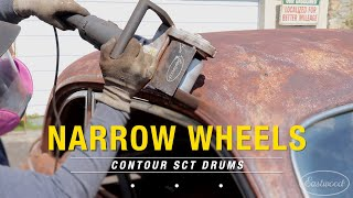 How to Get into Corners & Tight Spots with the Contour SCT - Narrow Wheels - Eastwood