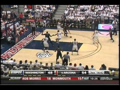 (2-19-11) Washington Huskies vs. Arizona Wildcats bball 2011 Part 1