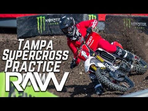 Tampa Supercross Practice RAW - Motocross Action Magazine