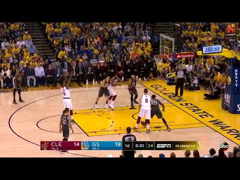 JR Smith is receiving MVP chants in Oakland during Game 2!