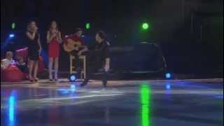 Michael Weiss performs live with Annie Mae Weiss & Family 2014