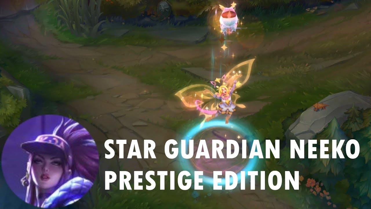 Star Guardian Neeko Prestige Edition Official Skin Trailer League Of Legends Youtube