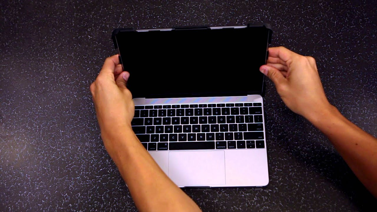 deaa0628e7 Urban Armor Gear (UAG) - MacBook Case - Installation & Removal Instructions