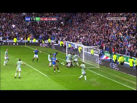 Edu last minute winning Goal vs Celtic - 28th Feb 2010 (HD 1080p)