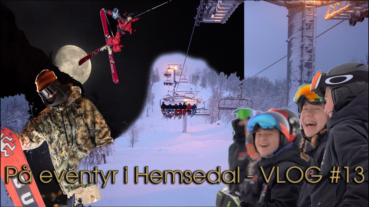 På eventyr i Hemsedal - Rasmus DJ Vlog #13