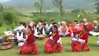 Nepali Lok Geet Maruni Nach Purbeli Lok laya )   Ghintang Ghintang Madal Bajyo