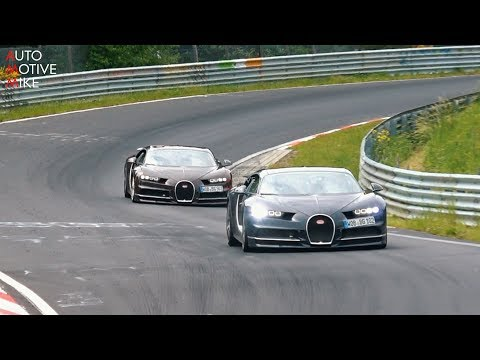 WHY IS BUGATTI TESTING TWO CHIRONS AT THE NÜRBURGRING??
