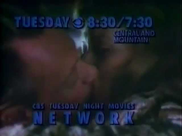 CBS Movie promo Network 1980