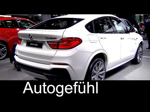 New BMW X4 M40i reveal premiere top sports version neu - Autogefühl