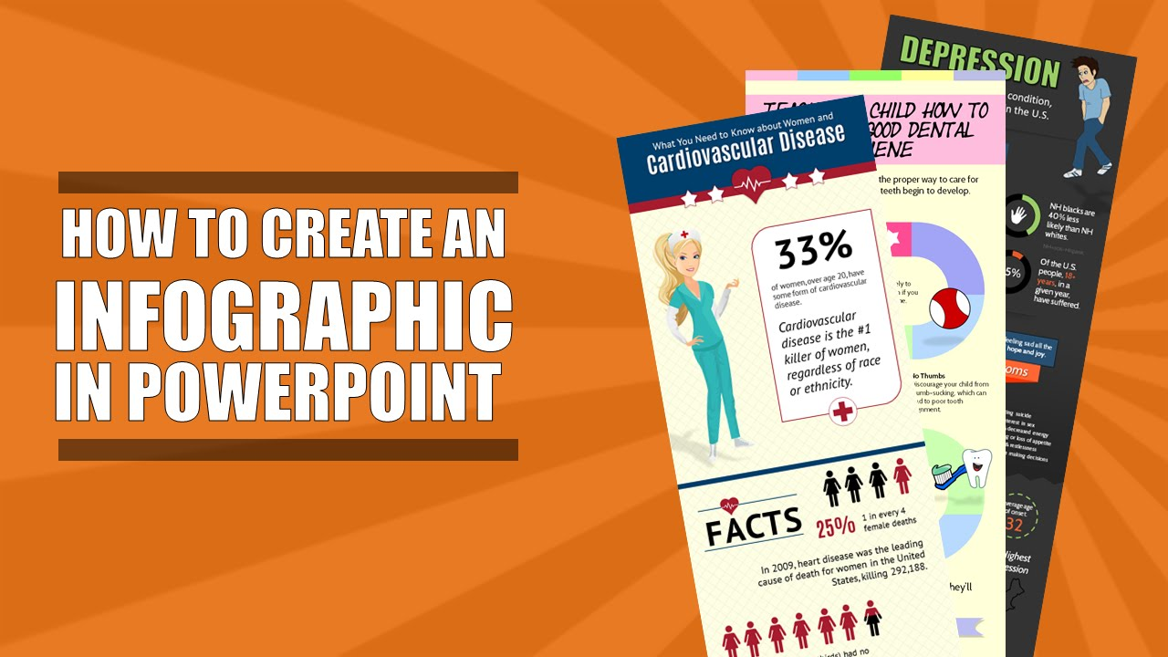 How to Create an Infographic in Powerpoint - Part 1 - YouTube