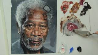 Como Pintar: Cor de pele escura ( Passo a Passo )