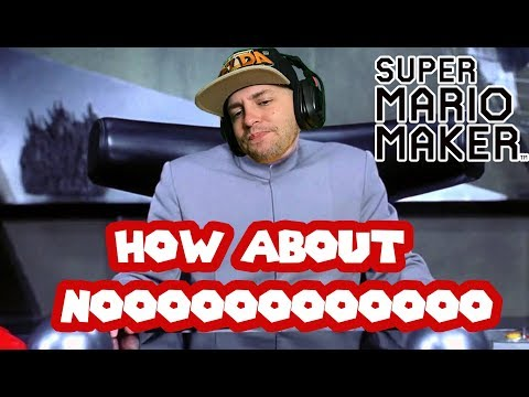 Liquid Hot MAGMA! Mario Maker