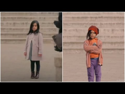 UNICEF video exposes how rich, poor children are treated differently