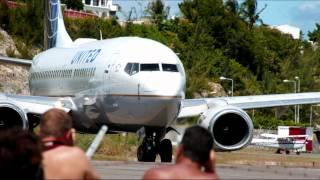 St Maarten plane spotting