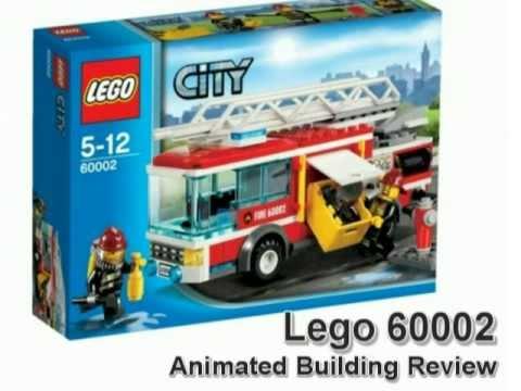Lego 60002 Animated Review Camin de Bomberos Lego  YouTube