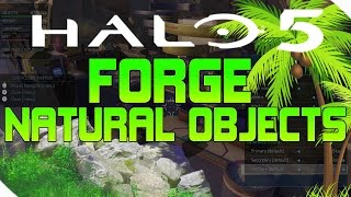 HALO 5 FORGE: NATURAL OBJECTS (ALPINE, GLACIAL, TREES, ROCKS AND MORE!)