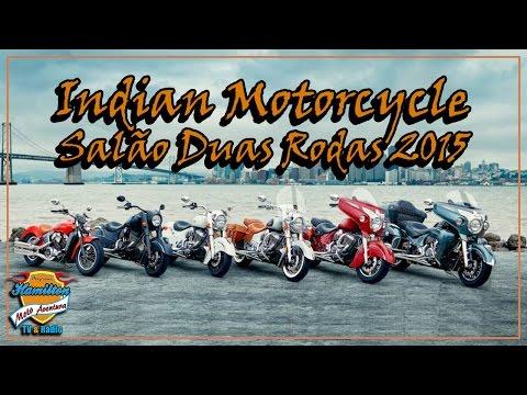 Stand da Indian Motorcycle Salão Duas Rodas 2015