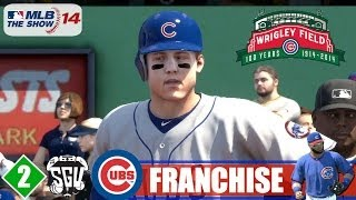 MLB 14: The Show (PS4) Chicago Cubs Franchise - EP2 (Opening Day)