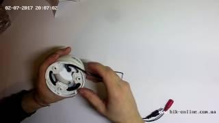 Купольная аналоговая видеокамера Hikvision DS-2CE55A2P-IRMM