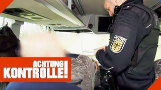 Buskontrolle auf der Autobahn: Was findet die Polizei? | Achtung Kontrolle | kabel eins