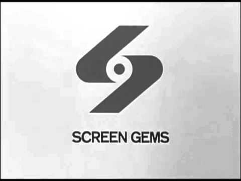 Screen Gems (1965) With Dancing Sticks Jingle (B&W)
