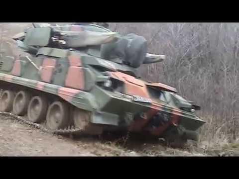 Тунгуска М1 стрельбы