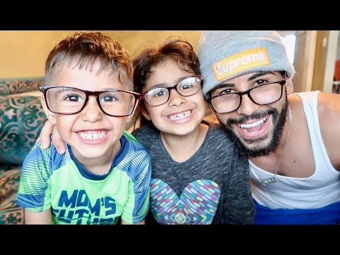 WE ALL WEAR GLASSES NOW!!