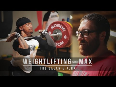 Weightlifting with Max | The Clean & Jerk | JTSstrength.com