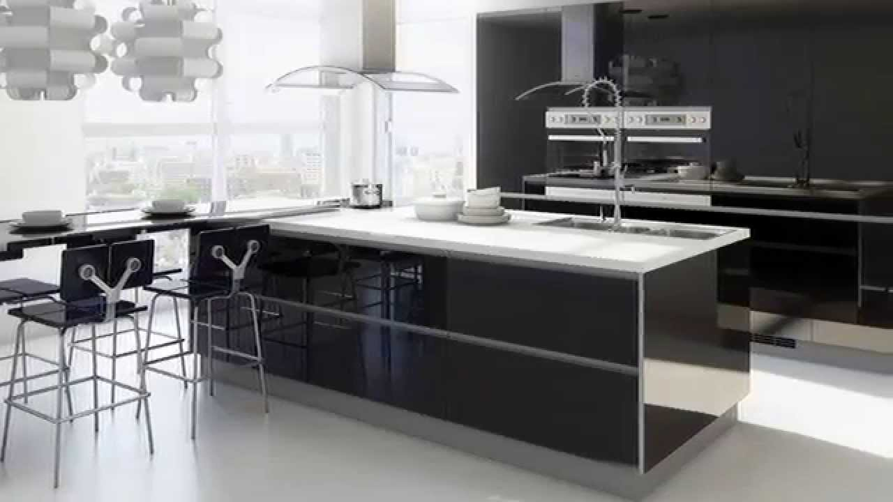 Cocinas en blanco y negro - YouTube