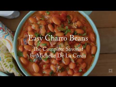 Easy Charro Beans