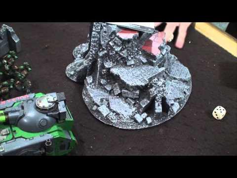 TBMC - HD Video Batrep - 2000 Khorne Daemonkin vs Salamanders