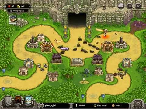Kingdom Rush: Frontiers Walkthrough Level 11 Veteran