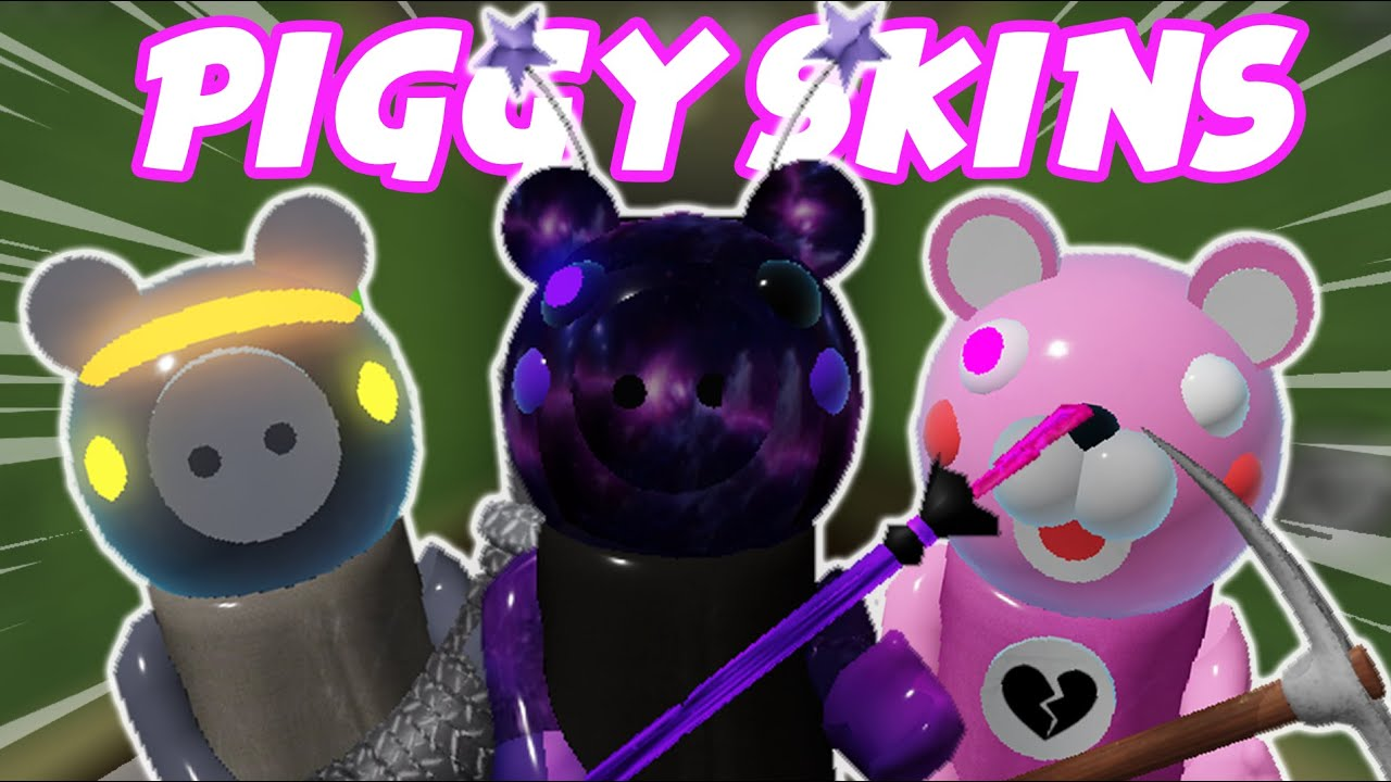 Roblox Piggy How To Make Your Own Skins Roblox Piggy Youtube