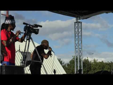 GAPPY RANKS entertaining at BRITAIN'S GOT REGGAE 2016