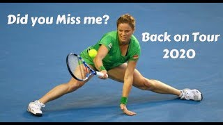 Kim Clijsters Best Points - Back On Tour 2020