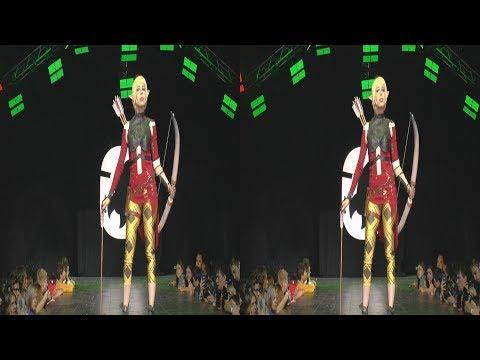 (3D) Cosplay Sera Dragon A. /Starcon 2017/