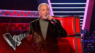 Sir Tom Jones' 'It's Not Unusual' | Blind Auditions | The Voice UK 2020