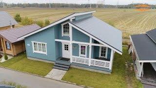 Каркасный дом ''Шале'' - отличный вариант для постоянного проживания!