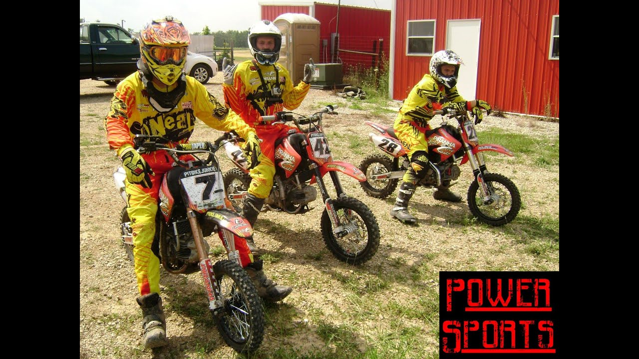 Pit Bike Racing Hosted By Pit Bike Junkie Magazine Youtube