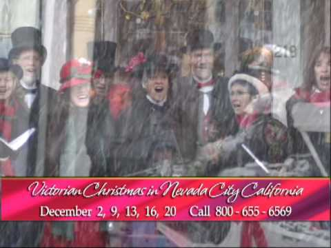 Nevada City Victorian Christmas commercial