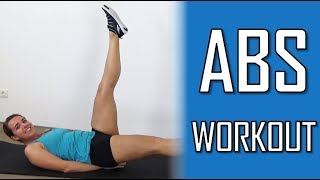 10 Minute Abs Workout At Home – Abs Strengthening and Belly Flattening Exercises – At Home