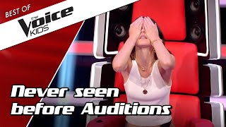 Download lagu TOP 10 NEVER SEEN BEFORE Blind Auditions in The Voice Kids