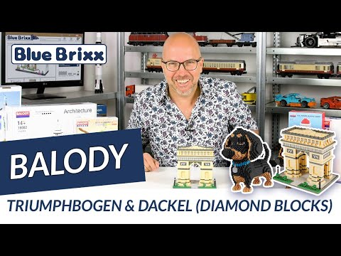 Triumphbogen & Dackel Von Balody (diamond Blocks) @ BlueBrixx