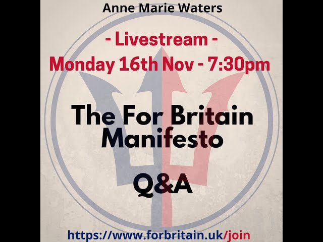 For Britain Live: 16th November 2020
